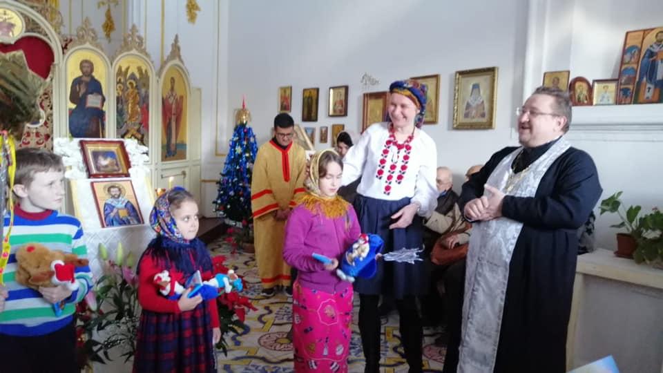 Православные в Палермо отметили Рождество Христово